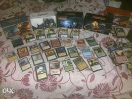 Magic the gathering cards old and new