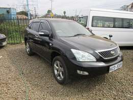 toyota harrier 2008 with sunroof