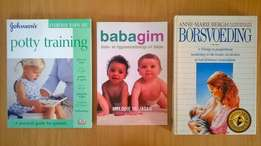 All 3 baby books for R60.