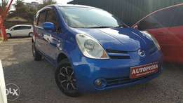 Nissan Note, Blue, KCD