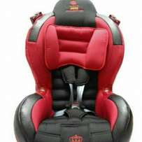 Kings collection car seat new with reclining position 0-10yrs