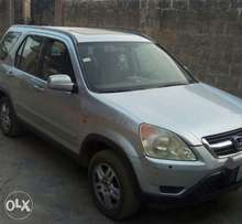 Extremely Clean First Body Honda CRV for quick sale