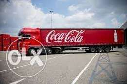 Cocacola produced for sale