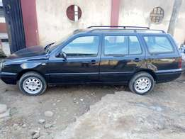 This is a manual Golf 3 wagon, clean and neat