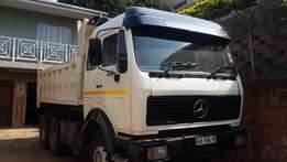 Mercedes 10 cube tipper 2638
