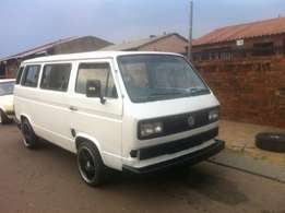 vw microbus 2.3 with full service record and p[apers in order,accident