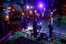 creative event lighting services