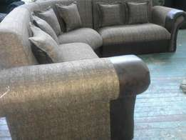 Gold brown lounge suite
