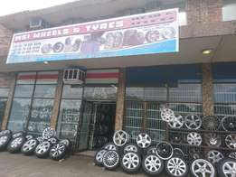 Rims nd tyres all sizes on sale
