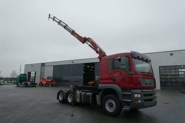 MAN Tga28.310 6x2 Crane/kran Hmf 1220 K4 Ual Euro - 2006 - image 3