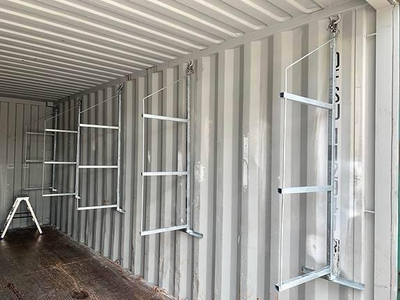 Container Hyller 50 Cm Galvaniserte - 2019