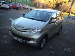 2012 toyota avanza 1.5sx gold color with 85000km R148000