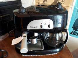 Delonghi cuppochino/coffee machine