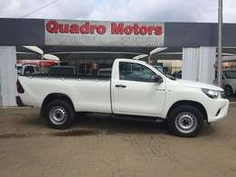 Toyota Hilux 2.4 GD6 4x4 SRX Single Cab 2016