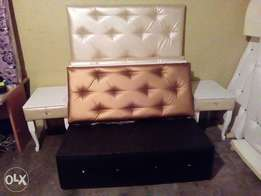 Modern headboard for double straight from factory