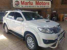 2014 Toyota Fortuner 3.0 D4D 4x4 Auto only 95000km Fsh