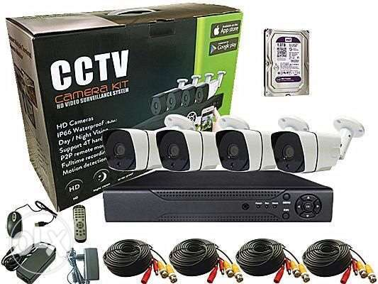 AHD Security cameras with DVR HD full set with 1T HDD Seagate