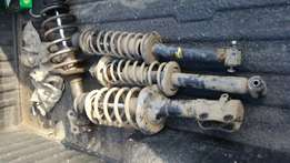 Vw polo shocks