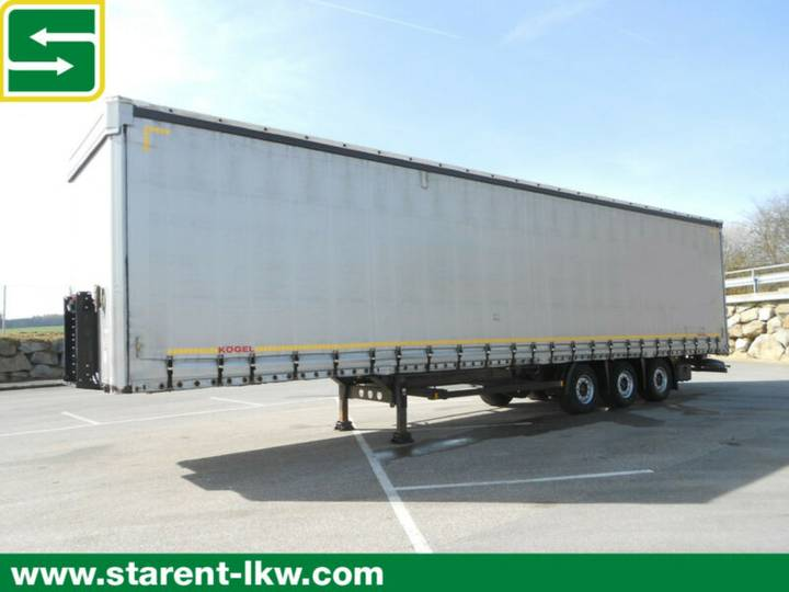 Koegel Megatrailer, Hubdach,SAF,XL-Zertifikat - 2014