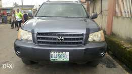 Neatly Used 2003 Toyota Highlander