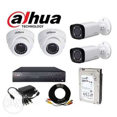 DAHUA CCTV KIT 1080p (2mp) - Package 509.15 SAR 599.0