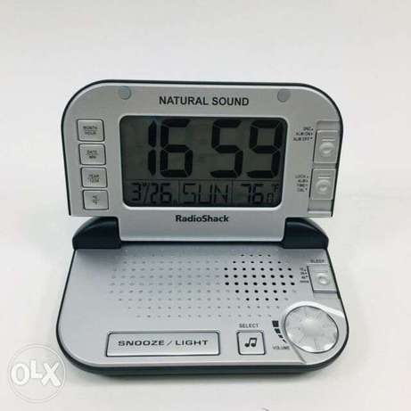 Radioshack Natural Sounds Machine With Alarm Clock