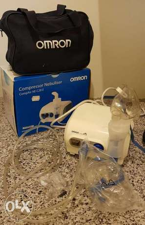 Compressor nebulizer omron made in Japan like new