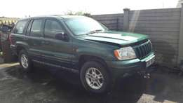 Jeep Grand Cherokee stripping for spares