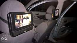 car dvd player for head rest