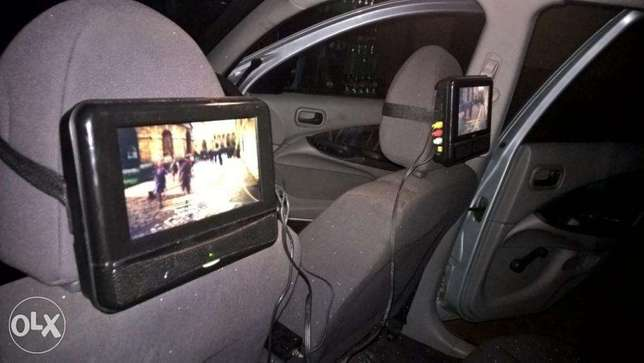 car dvd player for head rest Yaba - image 1