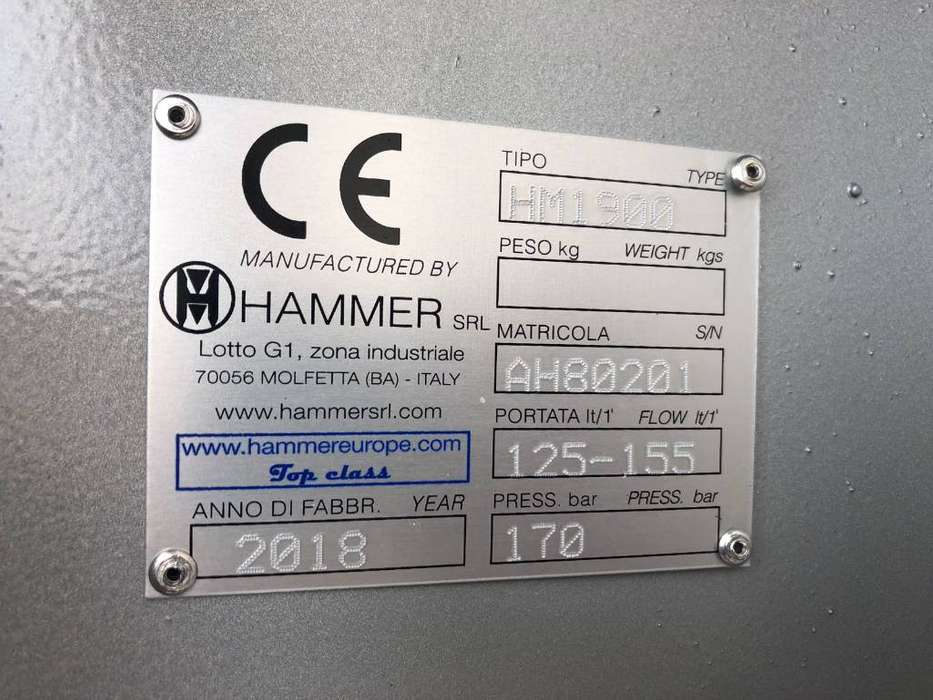 Hammer Hm 1900 - 2007 - image 5