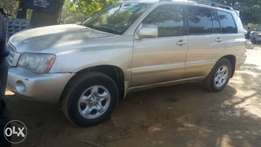 Toyota Highlander 2003 clean giveaway price