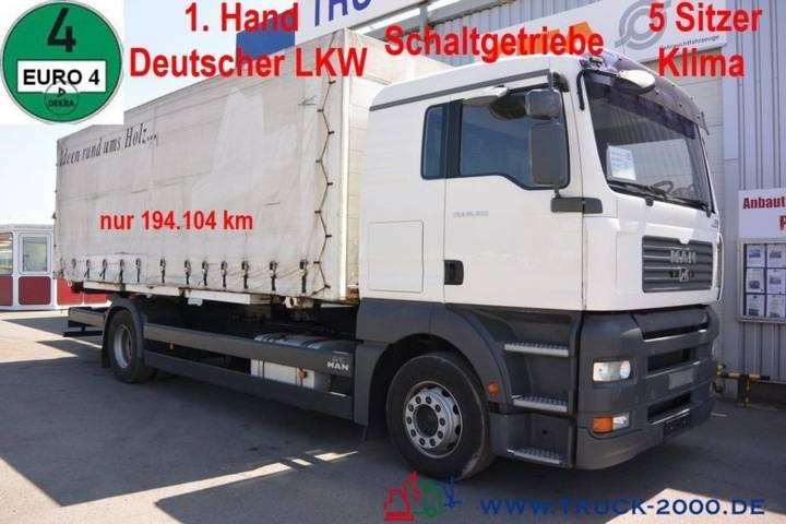 MAN TGA 18.350 Pritsche/Plane 1.Hd 5 Sitze Schalter - 2006