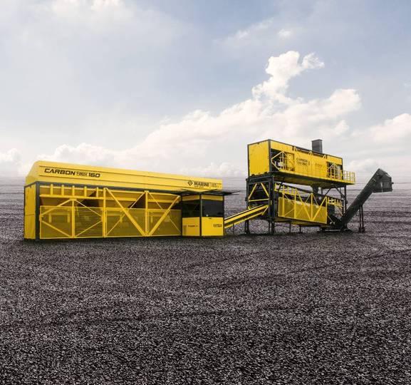 Marini Carbon T-max 160 Mobile Asphalt Plant - 2019