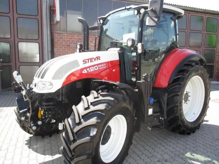 Steyr multi 4120 et - 2018