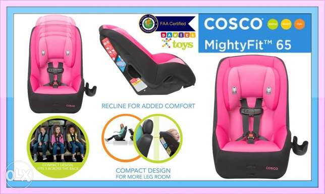 Cosco MightyFit 65 Convertible Car Seat, blue car seat