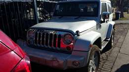 Jeep Wrangler 2DR Stripping for Spares