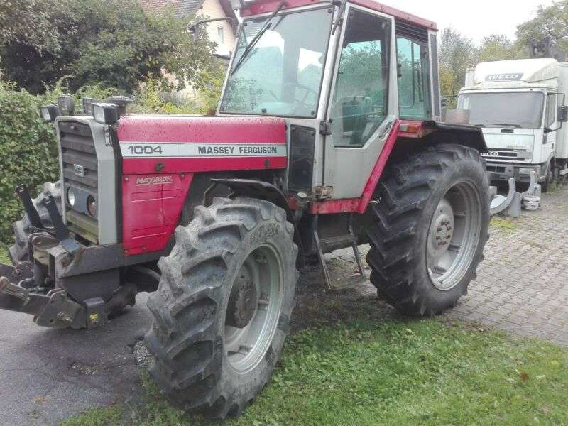 Massey Ferguson 1004 As - 1983