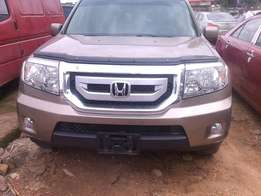 Clean Tokunbo 2010 Honda Pilot with Duty for sale