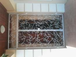 Wrought iron exclusive gates