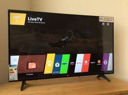 Top clear channels of the LG 43 smart webos satellite led tv