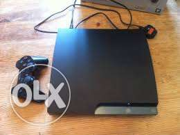Playstation 3 slim Grey chipped 320gb with 10 free game
