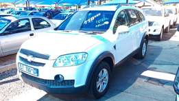 Chevrolet Captiva LT Manual SUV