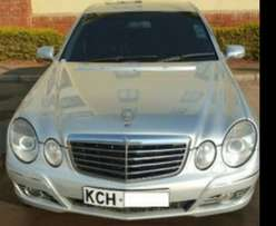 a clean Eclass Mercedes benz