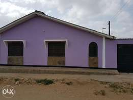 3bedroom house for sale with one bedsitter and a parking space