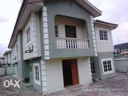 3 bed room duplex for sale at gbagada cofo selfcompound N45m