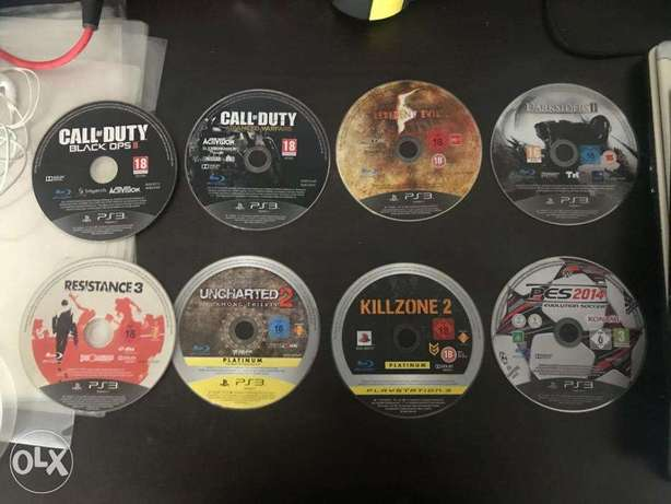 8 ps3 Games bundle in excellent condition