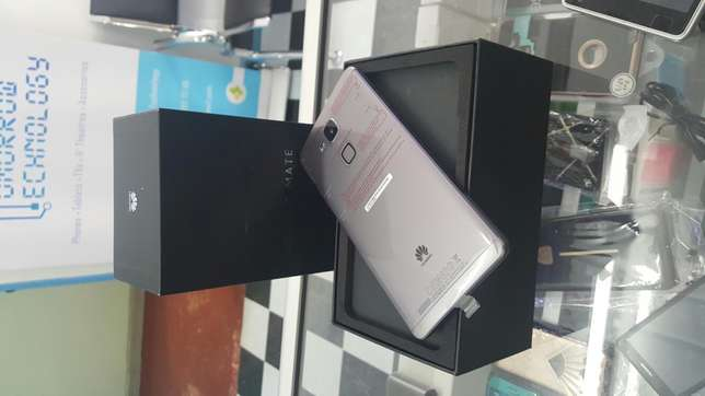 Huawei ascend mate 7 single sim brand new n seald Nairobi CBD - image 1