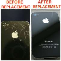 Iphone 4 4s rear glass replacement