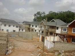 Gated community houses